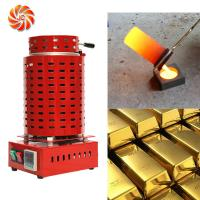 Buy cheap JC-K-110-1/2 silver gold metal melting furnace capacity 1-5kg from wholesalers