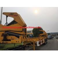 Wholesale XCMG NEW Q345 Material Side Lifter 3 Axles Semi Trailer Truck Lift / Carry 20ft 40ft Container from china suppliers