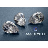 Wholesale Decoration High Hardness Pear Shaped Moissanite For Rings / Earrings from china suppliers