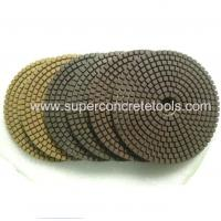 Wholesale Diamond Dry Flexible Polishing Pad For Concrete And Granite from china suppliers