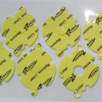 Quality Thermal Silicone Foam Rubber Gap Filler for Cooling Components / LED TV Yellow Soft Compressible for sale