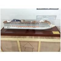 Wholesale Ivory White MSC Splendida Cruise Ship Model Speed Boats With ABS Hand Carving from china suppliers