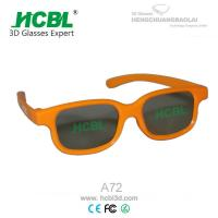 Wholesale Cool Shape Yellow 3D Viewing IMAX 3D Glasses For Digital 3D Theatre from china suppliers
