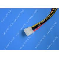Molex 4 Pin To Molex 4 Pin Cable Harness Assembly Pitch 5.08mm For Computer 200mm