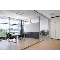 Wholesale Conference Room Decorative Aluminum Clear Glass Sliding Partition Walls from china suppliers