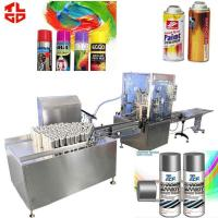 Quality Automatic Aerosol Filling MachineProduction Line for Spray Paint for sale