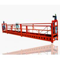 Wholesale ZLP630 Red Electric Steel Suspended Working Platform, Window Cleaning Hanging Platforms from china suppliers