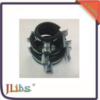 Quality Black And Zinc / Chrome Plated Cast Iron Galvanized Pipe Clamps 8mm - 60mm for sale