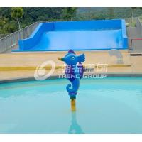 Quality Fiberglass Spray Park Fiberglass Equipment For Children / Kids Water Park Products for sale