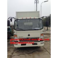 Wholesale Sinotruck 140 HP Light Duty Commercial Refrigrator Chill Cold Trucks With Cargo from china suppliers