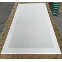 Wholesale Perforated Aluminum / Metal Soundproof Ceiling Panels , Fire Resistant Ceiling Tiles Dia 1.8mm from china suppliers