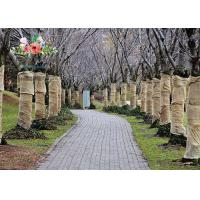 Buy cheap Heavy Duty Burlap Tree Wrap Brown Landscape supply type Gardening tree protector from wholesalers
