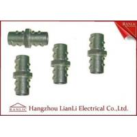 "Wholesale Zinc 1/2"" 3/4"" Screw Coupling Flexible Conduit Fittings , Threaded Pipe Fittings from china suppliers"