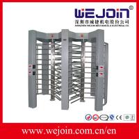 Wholesale Full Height  Turnstile for Pedestrian Passing With RS485 Communication Interface from china suppliers