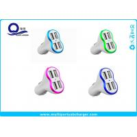 Wholesale Quick Charge 3.0 4 Port USB Car Charger Fast Charging High Gloss Finish from china suppliers