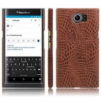 Wholesale Blackberry priv crocodile pattern PU leather phone case , cellphone back cover shell for Blackberry from china suppliers