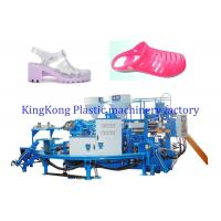 Quality 2 Colors PVC Jewelry Shoe Making Machine , Flat Jewelry Sandal Making Machine for sale