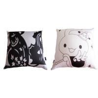 Quality Creative Canvas Throw Pillows For Sleeping , Sublimation Printed Throw Pillow for sale
