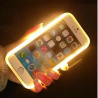 Wholesale LED Light Up Selfie Phone Case , Illuminated Iphone Case For  IPhone 6 / 6 S Plus from china suppliers