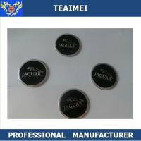Buy cheap Adhesive Decorative 55mm ABS Wheel Center Cap Stickers For Jaguar from wholesalers