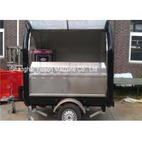 Quality Fiberglass Concession Trailers Mobile Food Vehicles Hot Dog Carts Catering Tucks Equipments for sale