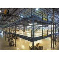 Wholesale Epoxy Powder Coated Factory Mezzanine Floors , Max 6000mm Upright from china suppliers