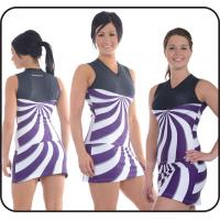 Wholesale Beautiful Stripe Cheerleading Training Clothes with Inside Underwear from china suppliers