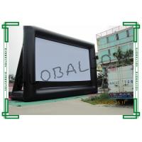Wholesale Big Outdoor Inflatable Movie Screens , Waterproof Backyard Movie Screens from china suppliers