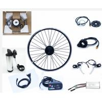 Wholesale 36v 350 Watt motorized bicycle conversion kit Hub Motor Wheel E bike Front Or Rear with LED from china suppliers