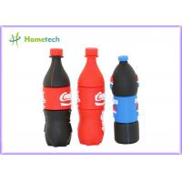 Wholesale Pepsi bottles PVC Customized USB Flash Drive / gift Personalised Usb Memory Stick from china suppliers
