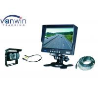 Wholesale 7 inch Car Rear View Monitor with Car rearview camera for Van, Truck, Bus from china suppliers