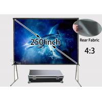 Wholesale High Definition Rear Projection Screen Portable 200 x 150inch For Outdoor Show from china suppliers