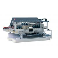 Wholesale 45 Angle Auto Double Glass Edging Machine With 2 Sets Servo Motors , high speed from china suppliers