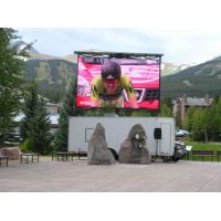 Wholesale Mobile Truck Mounted LED Screen For Sport Shows , 1024 Dots/Sqm from china suppliers