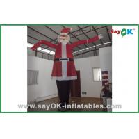 Wholesale Santa Claus Advertising Inflatable Air Dancer For Christmas Celebrate from china suppliers