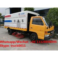 Wholesale good quality  Special discount JMC 4x2 7m3 road brush sweeper truck, JMC street sweeping vehicle for sale from china suppliers