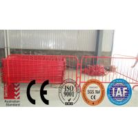 Quality Powder coated removable Interlock Temporary Safety Fencing for sale
