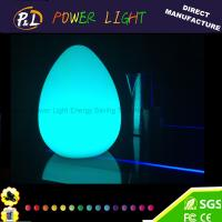 China Decorative Color Changing LED Easter Decoration Led Egg Lamp on sale