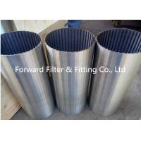 Wholesale Galvanized / Carton / Stainless Steel Wedge Wire Screen For Mine Sieving Mesh from china suppliers