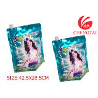 Wholesale Rotogravure Printing Packaigng Stand Up Pouch with Spout for Detergent from china suppliers