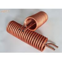 Wholesale Liquid Cooling and Heat Exchangers Copper Tube Coil Tin plating Finned Coil from china suppliers