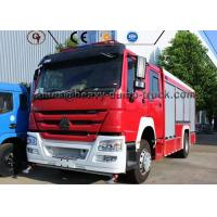 Wholesale Professional Water Tank Fire Fighting Vehicle , Rescue Fire Engine Fire Truck from china suppliers