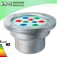 Wholesale WaterProof Edison 21W RGB LED Underwater Light, LED Pool light from china suppliers