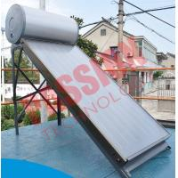 Compact Pressure Solar Water Heater 200 Liter With Sewage Purification