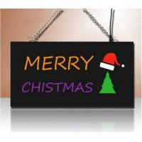 Wholesale Merry Christmas,Xmas sign, Xmas marketing sign, exit sign, no smoking sign from china suppliers