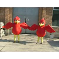 Wholesale custom made plush disney red chicken mascot costumes for adults from china suppliers