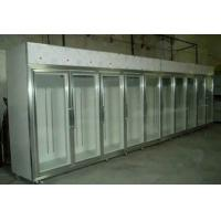 Quality Glass Sliding Door Commercial Beer Coolers 0 - 10 Degree Fan Cooling For Shop for sale