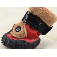 Wholesale Comfortable Handsome Pet Dog Strap , Sports PET Dog Shoes for Autumn / Winter from china suppliers