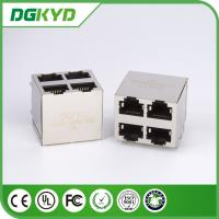 Wholesale KRJ -5921S8P8C2X2NL Shielded Ethernet Rj45 Jack Stack Mj Assy 8pos 2x2 Cat5 from china suppliers