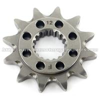 Wholesale 20 MN Steel Front Dirt Bike Chain Sprocket With Closet Tolerance And Best Teeth Profile from china suppliers